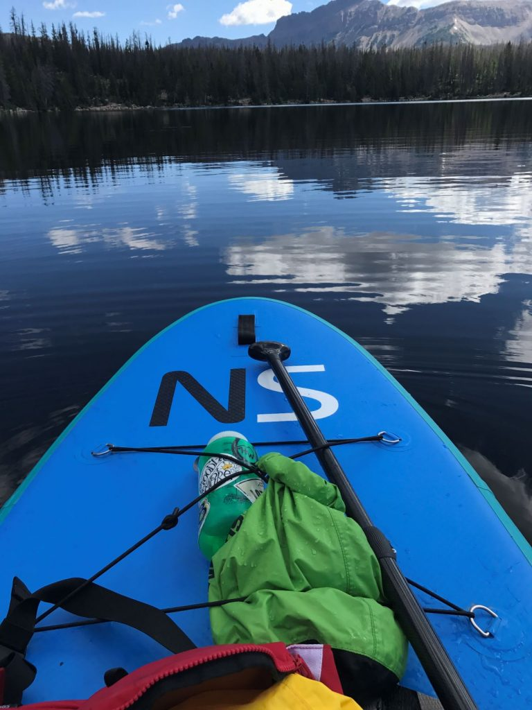 Keep hydrated while paddleboarding