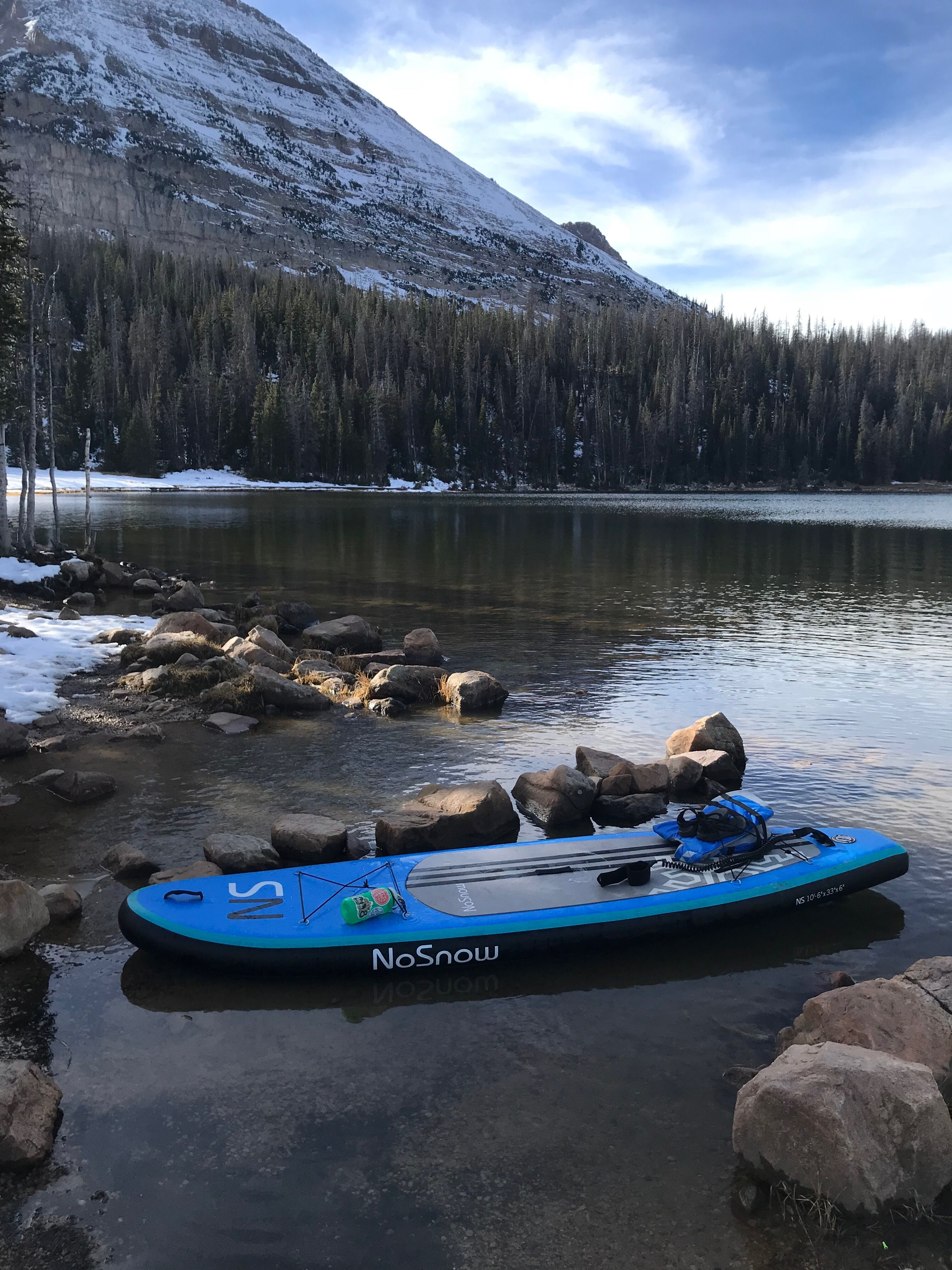 solo paddleboarding